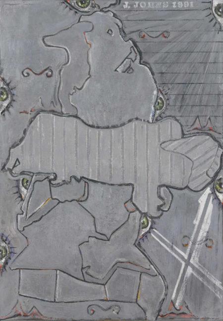 Jasper Johns-Untitled-1991