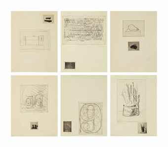 Jasper Johns-1st Etchings-1969