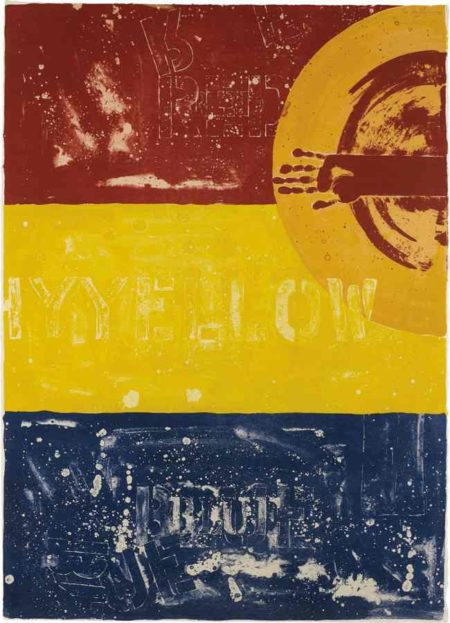 Jasper Johns-Periscope I-1979