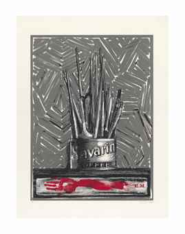 Jasper Johns-Savarin-1981