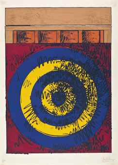 Jasper Johns-Target with Four Faces-1968