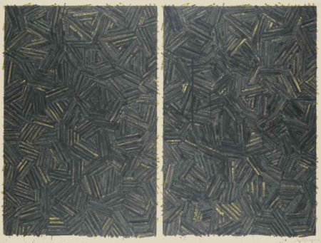 Jasper Johns-The Dutch Wives-1987