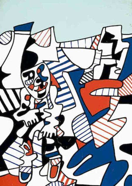 Jean Dubuffet-Le Fugitif-1977