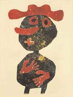 Jean Dubuffet-Nez carotte-1961