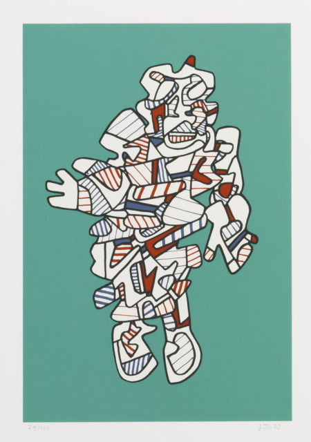 Jean Dubuffet-Protestator-1973