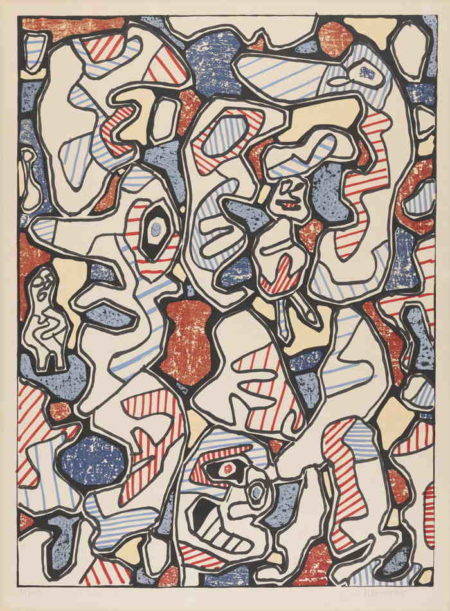 Jean Dubuffet-Samedi Tantot-1964