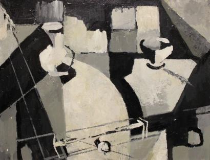Jean-Marie Calmettes-La table-1959