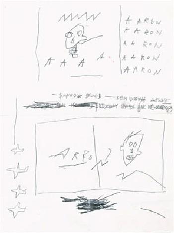 Jean-Michel Basquiat-Aaron-