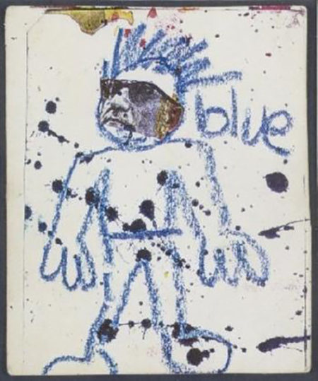 Jean-Michel Basquiat-(Anti) Product Postcard-1980