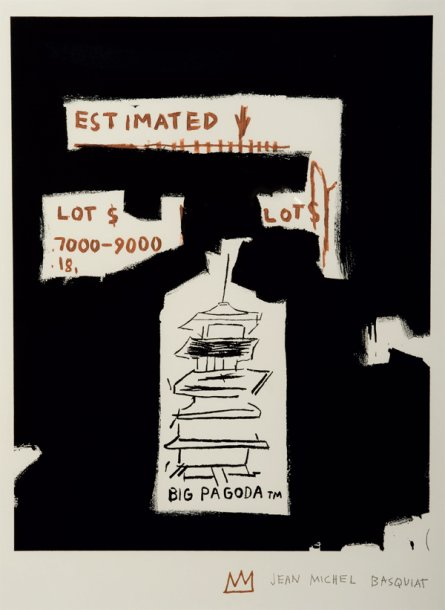 Jean-Michel Basquiat-Big Pagoda-