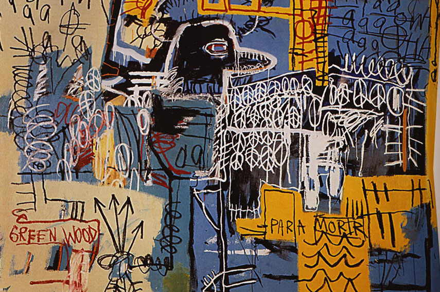 Jean-Michel Basquiat untitled american