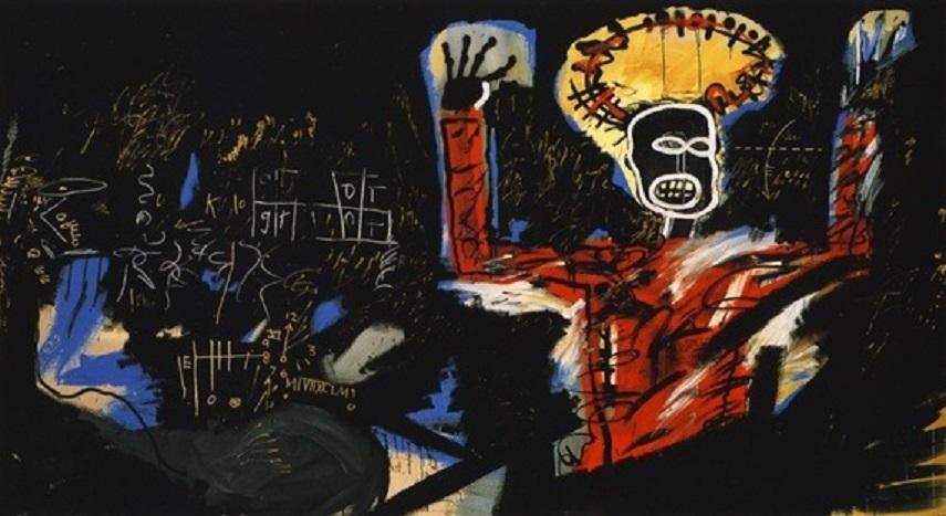 Jean-Michel Basquiat - Boxer. Image via quoara.com