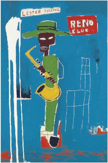Jean-Michel Basquiat-In the Wings-1986