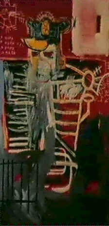 Jean-Michel Basquiat-La Hara-1981