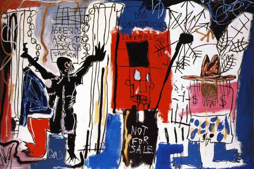 BASQUIAT SOLD IN THE STREETS