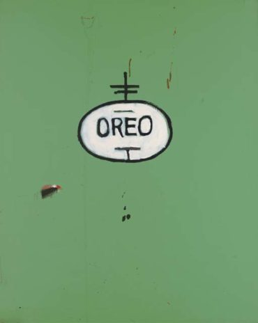 Jean-Michel Basquiat-Oreo-