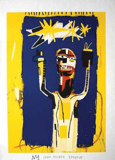 Jean-Michel Basquiat-Personnage-
