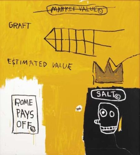 Jean-Michel Basquiat-Rome Pays Off-2005