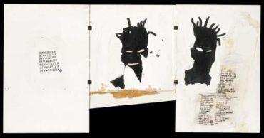 Jean-Michel Basquiat-Self-Portrait (Triptych Portrait)-1981