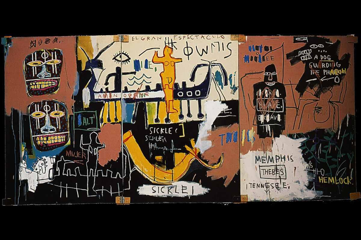 Basquiat Street Art Ma...