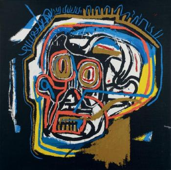 Jean-Michel Basquiat-Untitled (Head 3)-1983