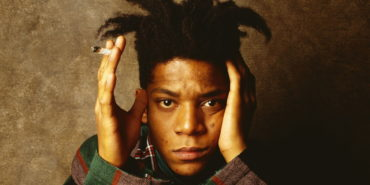 Jean-Michel Basquiat portrait