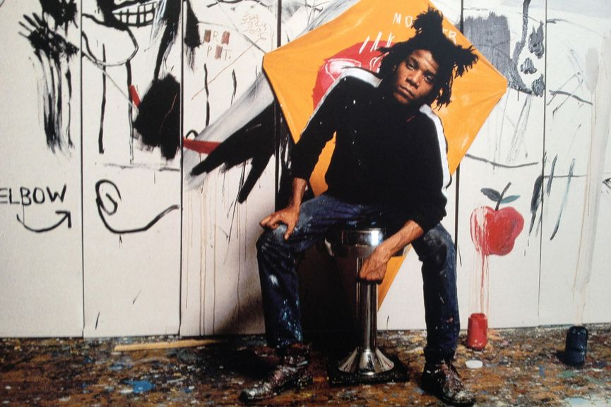 Jean Michel Basquiat, via knownpeople net