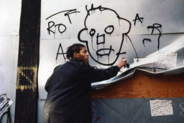 Basquiat american school graffiti andy city 1988