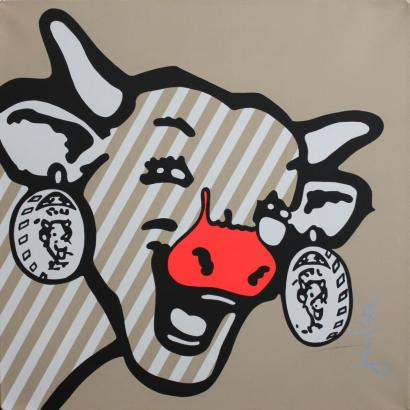 Jean-Michel Gnidzaz-La vache qui rit-