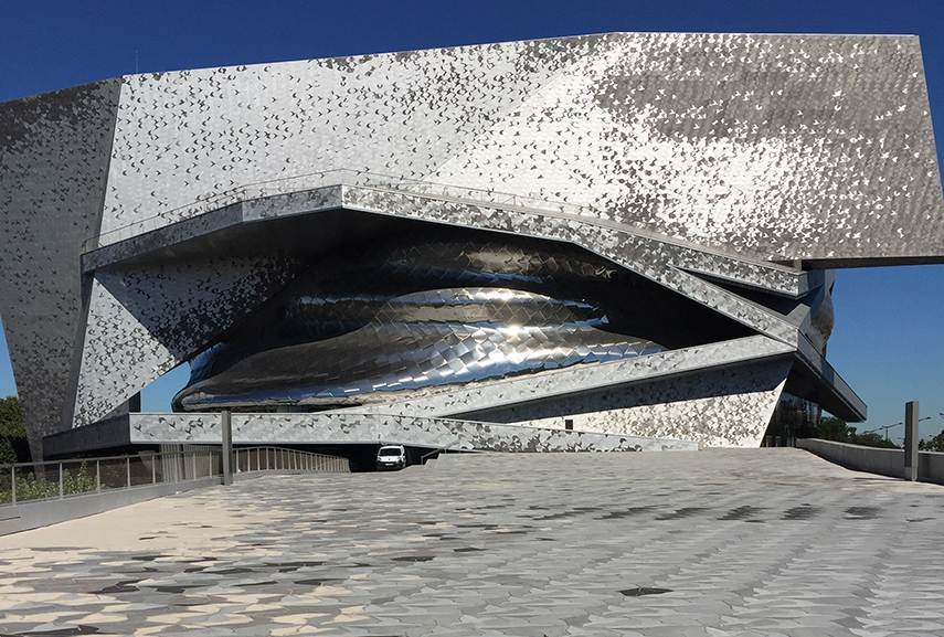 The architecture of Jean Nouvel is a great proponent of contemporary architecture