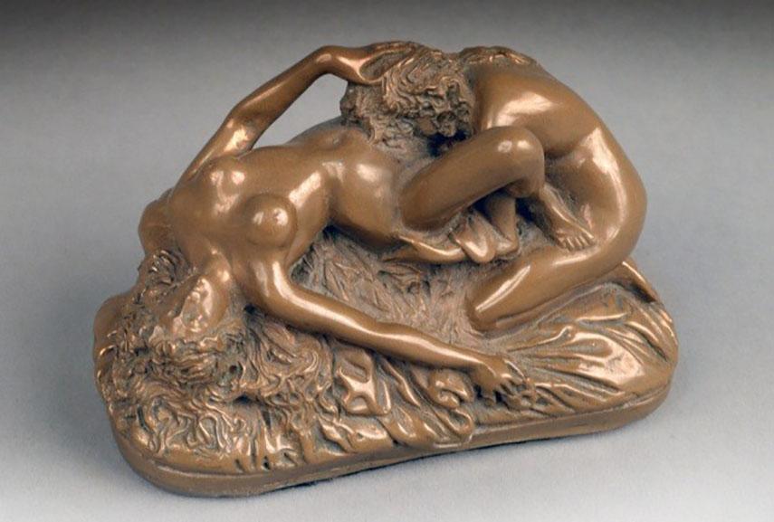 Artist erotic gay sculpture
