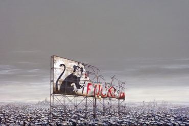Jeff Gillette Brings Dismayland Nord to Nuart Gallery