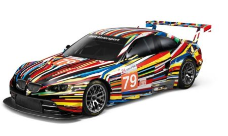 Jeff Koons-BMW M3 GT2, Art cart-2011