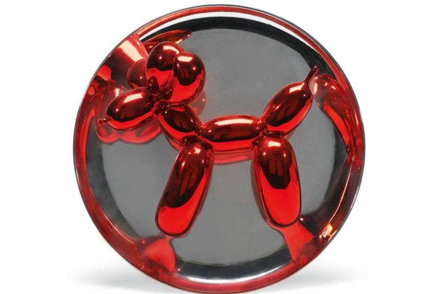 Jeff Koons, the richest sculptor, worked with musicians such as Madonna, Jay Dre, and Sean Combs Diddy.
