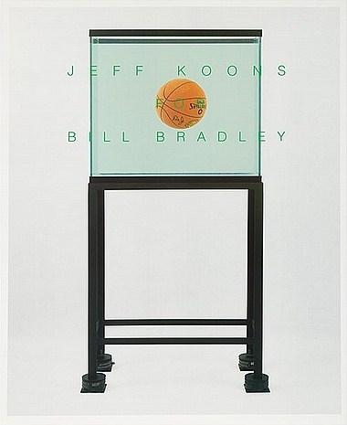 Jeff Koons-Bill Bradley For U.S. Senate-1991
