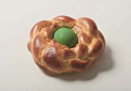 Jeff Koons-Bread and Egg (Green)-1995