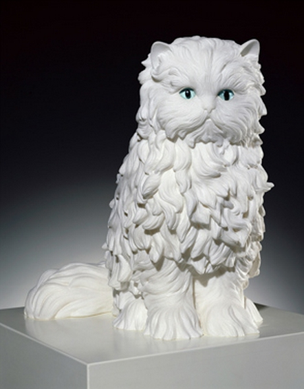 Jeff Koons-Cat-1991