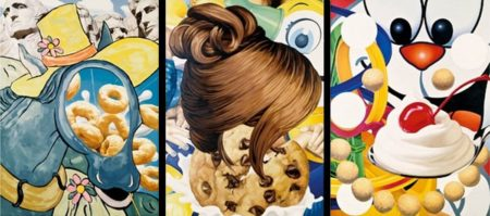 Jeff Koons-Cut-out, Hair, Loopy-2000