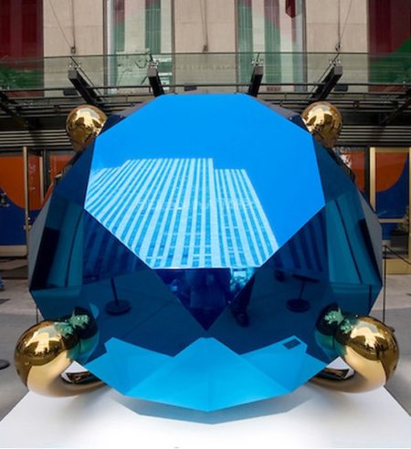 Jeff Koons-Diamond (Blue)-2005