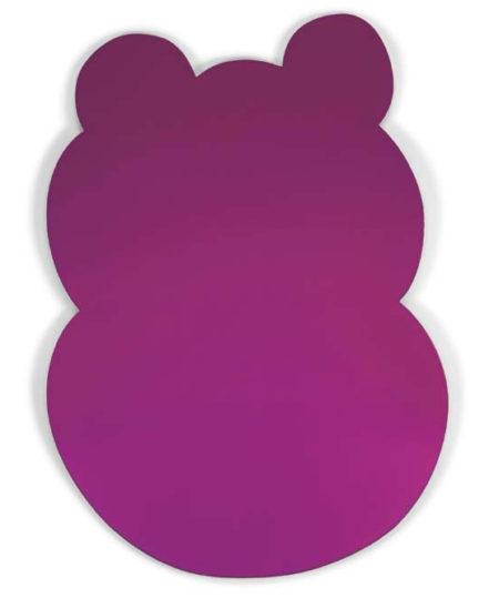 Jeff Koons-Hippo (Dark Pink)-1999