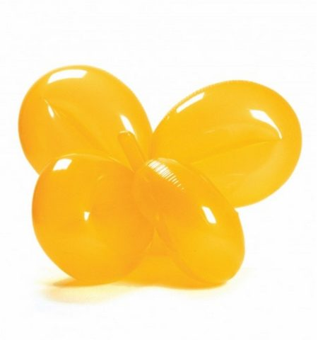 Jeff Koons-Inflatable Balloon Flower (Yellow)-1997