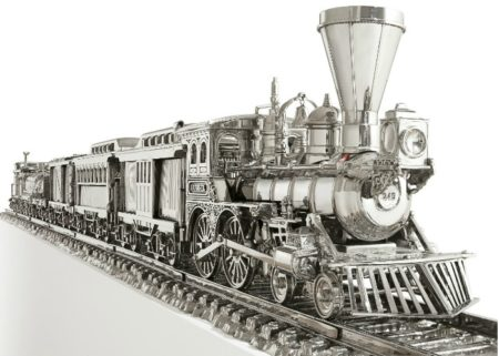 Jeff Koons-Jim Beam (J.B. Turner Train)-1986