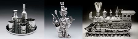 Jeff Koons-Luxury And Degradation (Baccart Crystal, Fisherman Golfer, J.B. Turner Engine)-1986