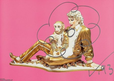 Jeff Koons-Michael Jackson and Bubbles-1988