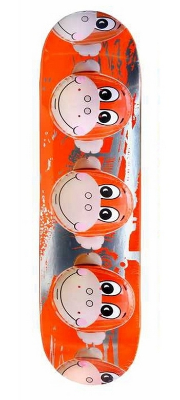 Jeff Koons-Monkey Train (Orange)-2006