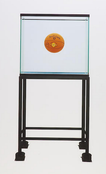 Jeff Koons-One Ball Total Equilibrium Tank-1995