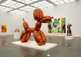 Jeff Koons - Orange Balloon Dog