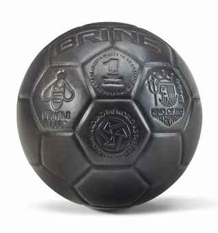 Jeff Koons-Soccerball (Bumblebee)-1985