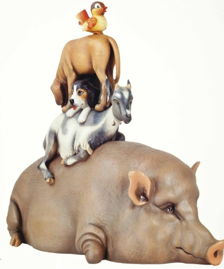 Jeff Koons-Stacked-2003