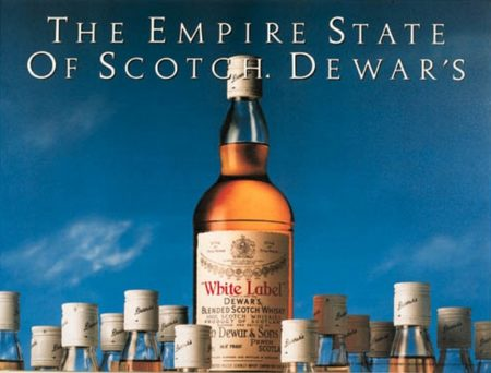 Jeff Koons-The Empire State of Scotch, Dewars-1986